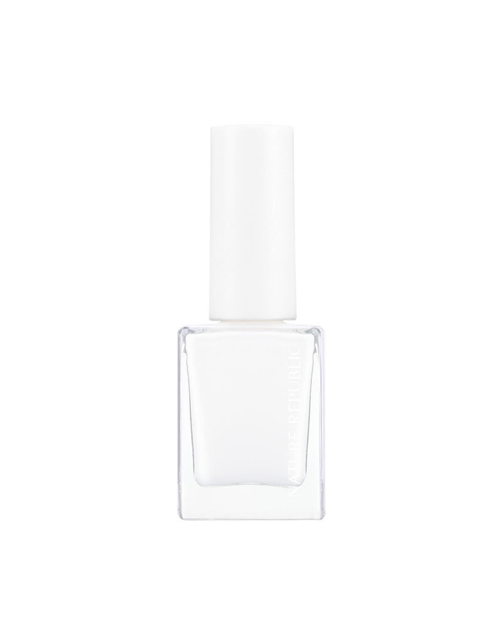 Color & Nature Nail Color 28 White Cream