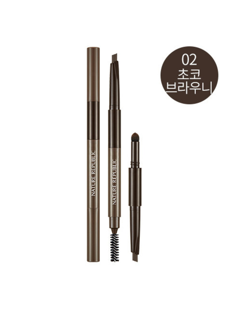 Multiple 3D All In One Brow 02 Choco Brownie