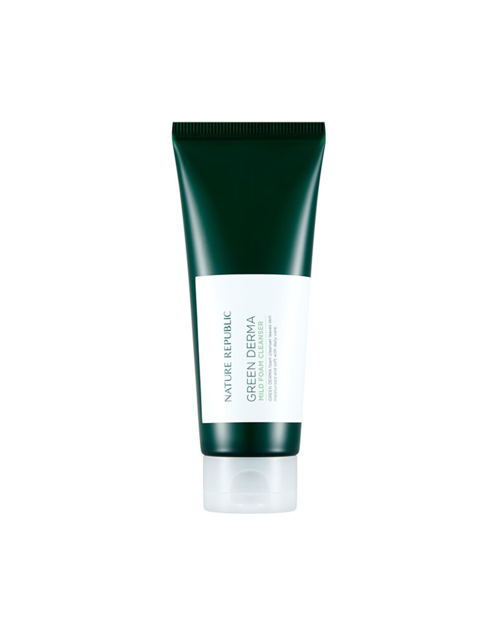 Green Derma Mild Foam Cleanser