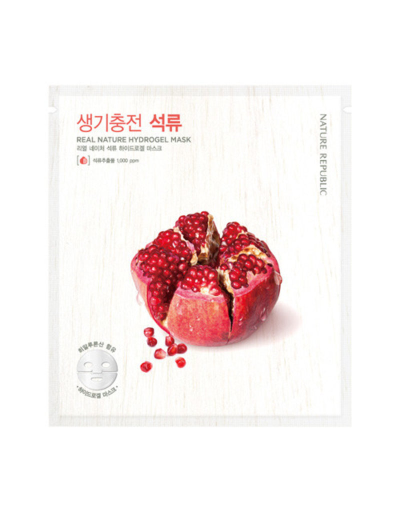 Real Nature Pomegranate Hydrogel Mask