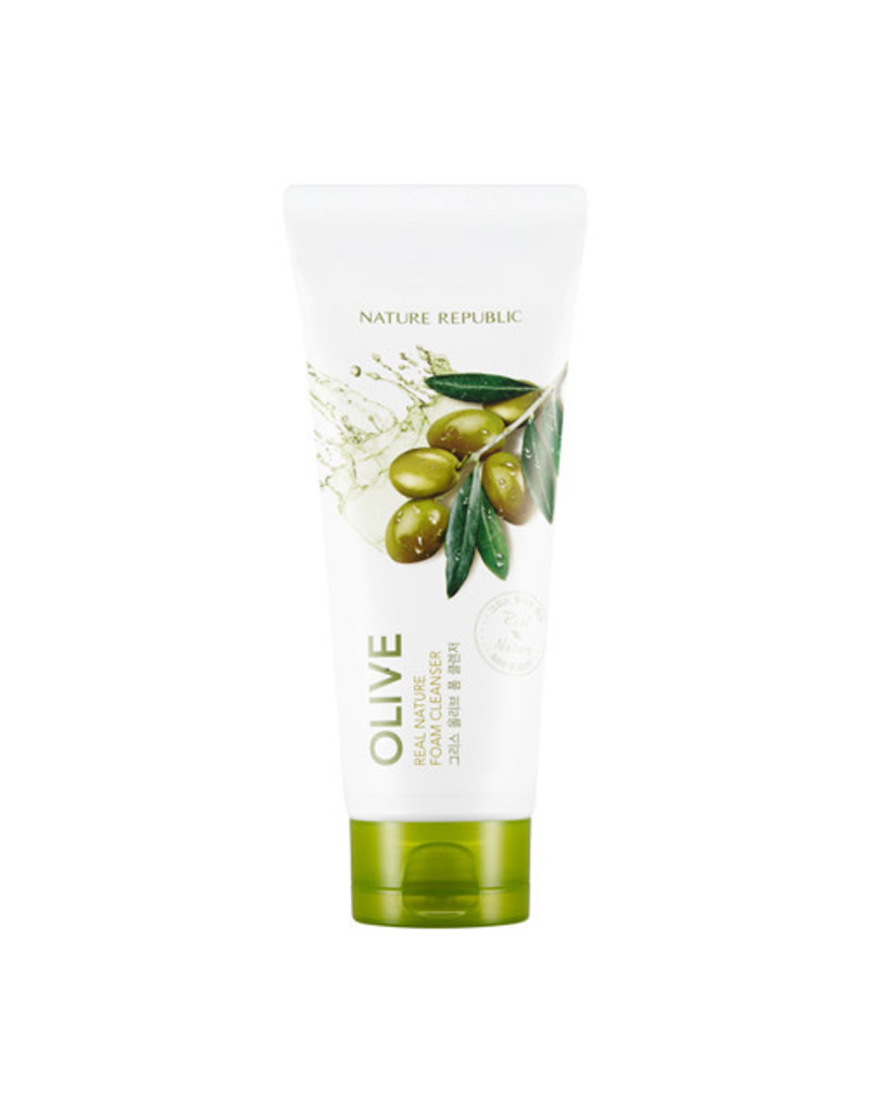 Real Nature Olive Foam Cleanser