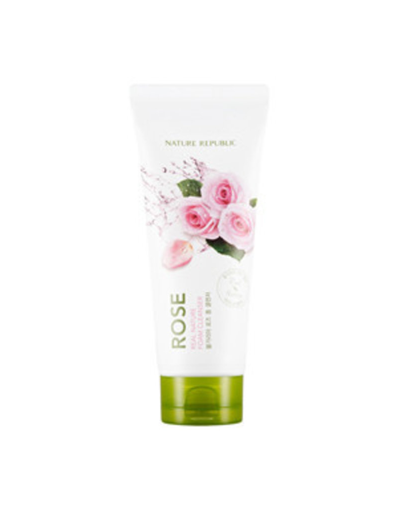 Real Nature Rose Foam Cleanser