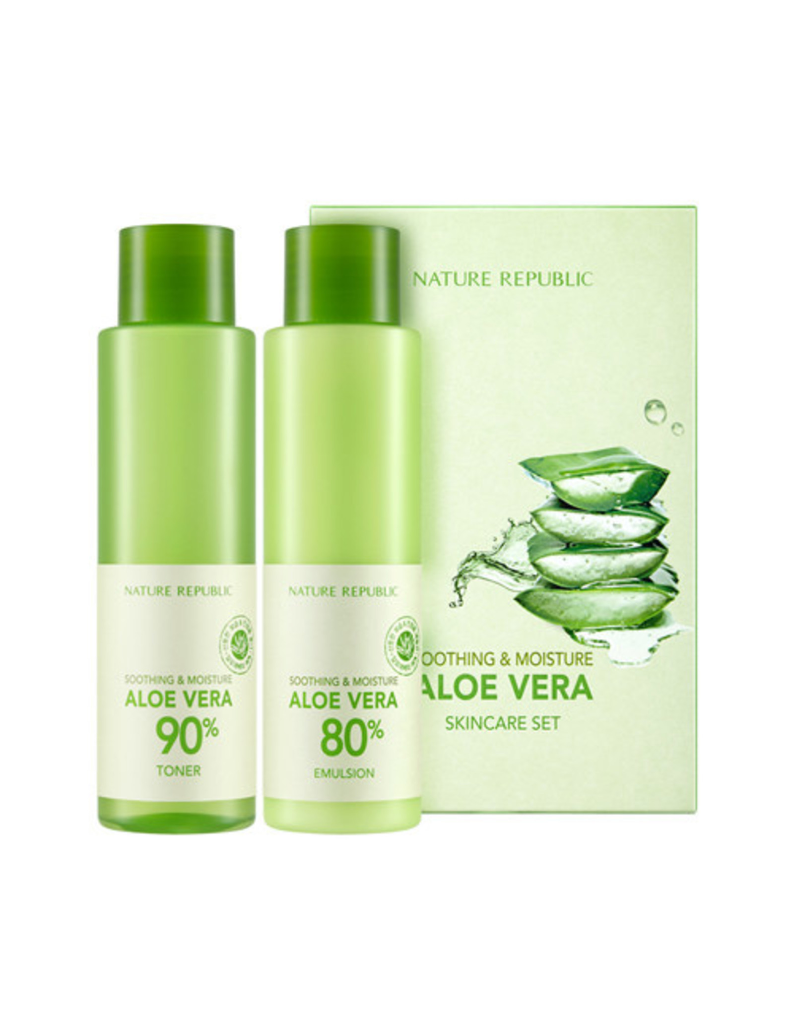 Soothing&Moisture Aloe Vera Skin Care Set (Orig $22.90)
