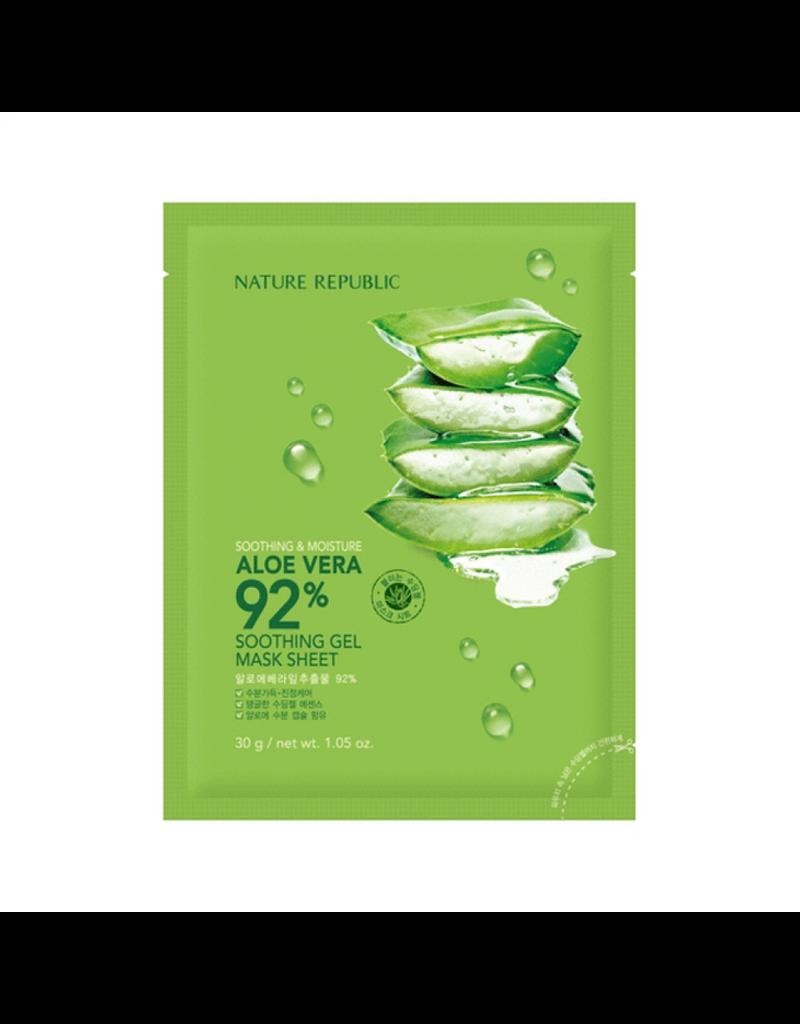 Aloe Vera Soothing Gel Mask Sheet