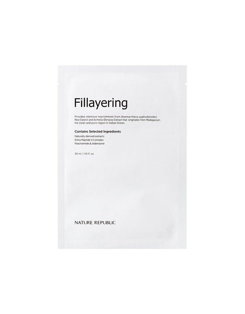 Fillayering Wrinkle Up Ampoule Mask Sheet