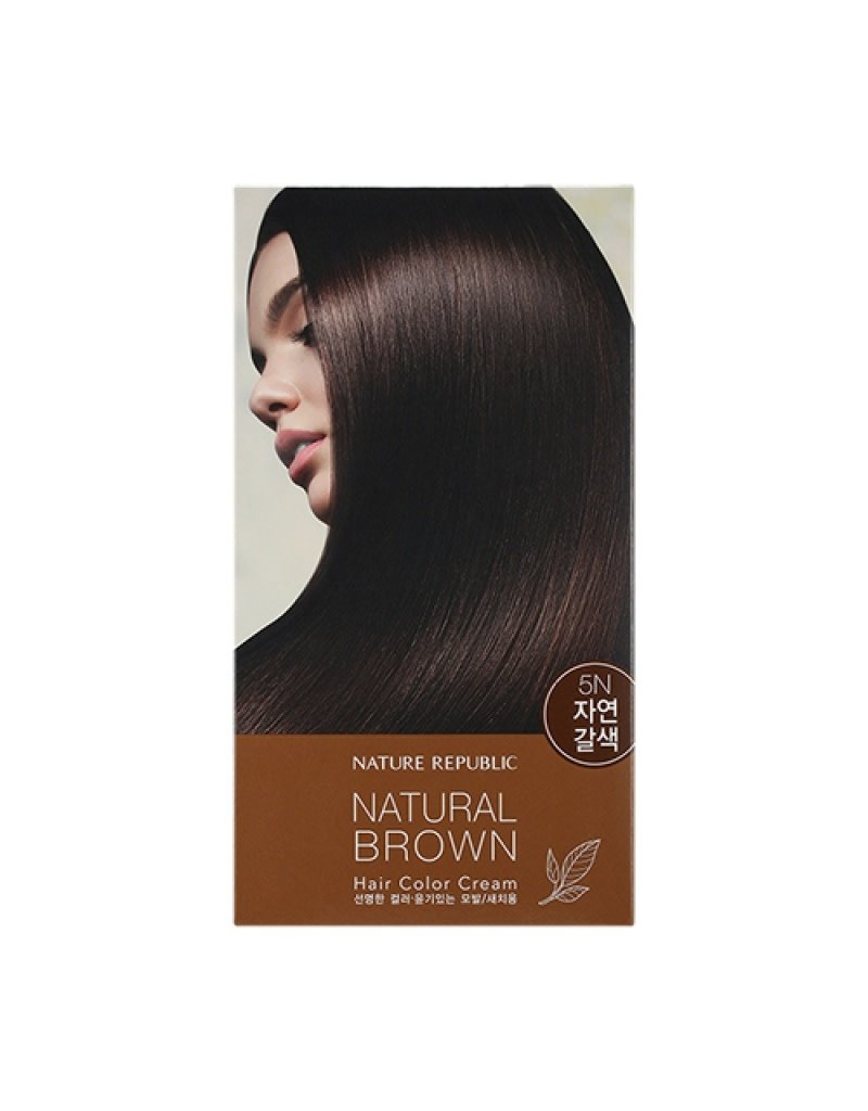 Hair&Nature Hair Color Cream 5N Natural Brown