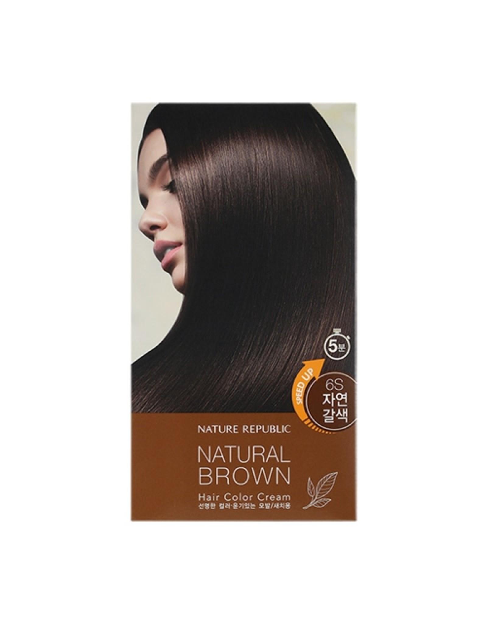 Hair&Nature Hair Color Cream 6S Natural Brown