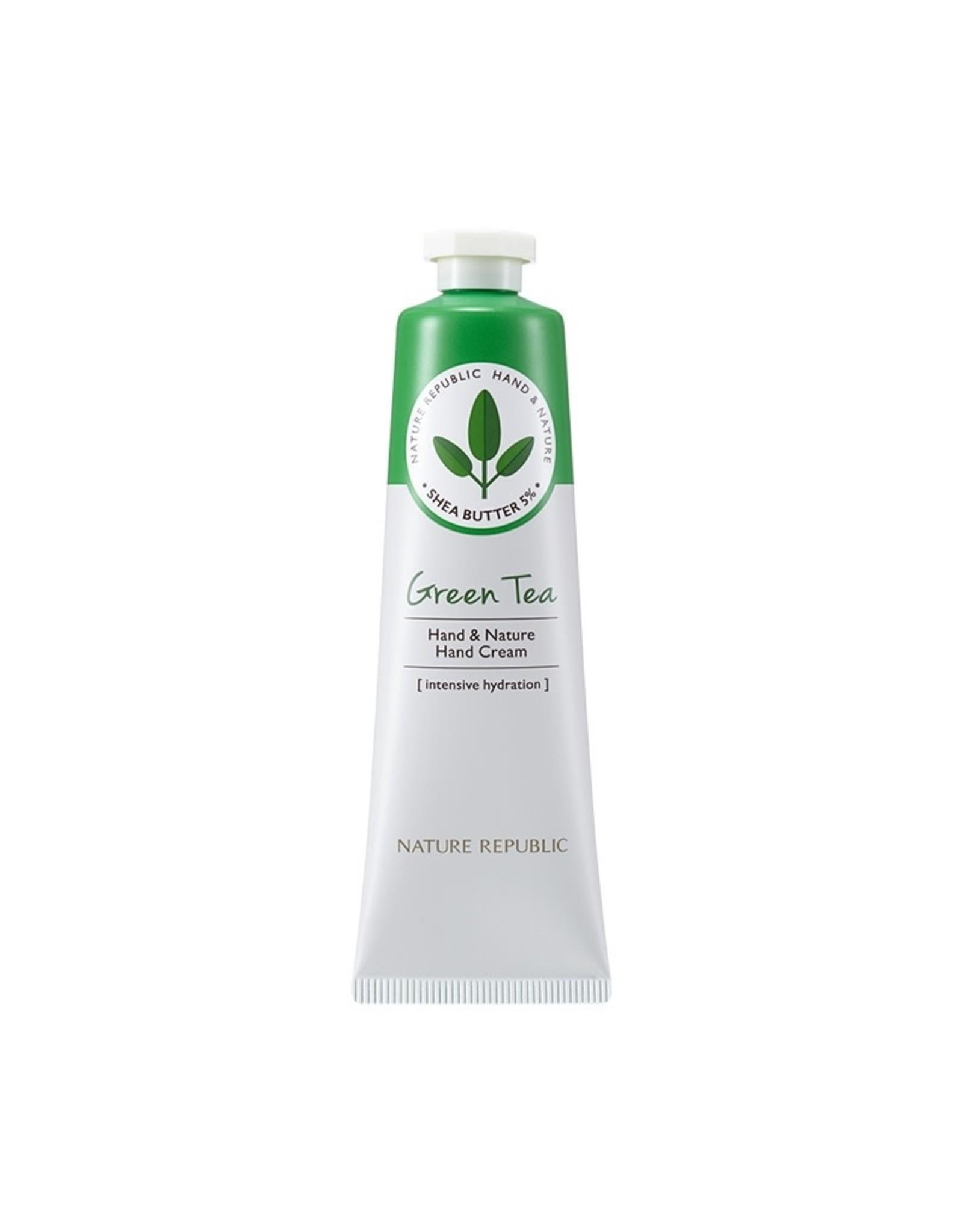 Hand & Nature Hand Cream Green Tea (Orig $8.90)