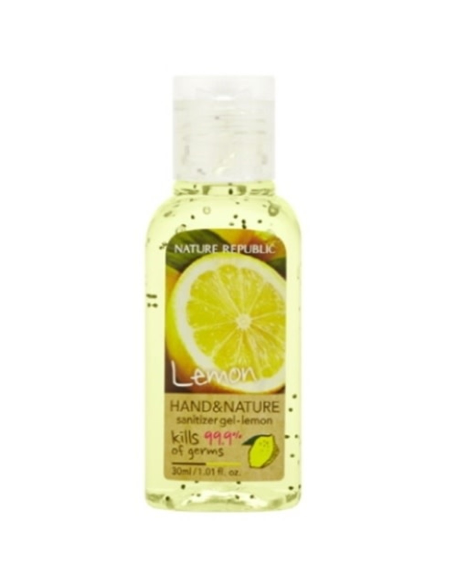 Hand & Nature Sanitizer Gel-Lemon