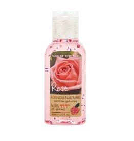 Hand & Nature Sanitizer Gel-Rose