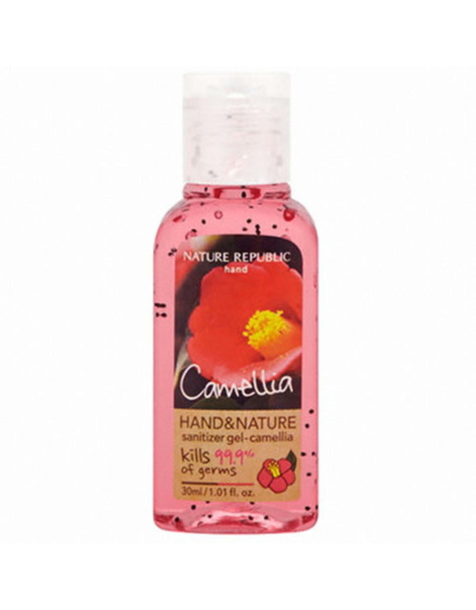 Hand & Nature Sanitizer Gel-Camellia