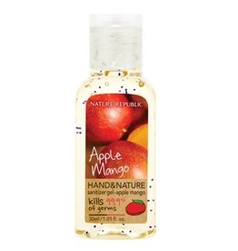 Hand & Nature Sanitizer Gel- Apple Mango