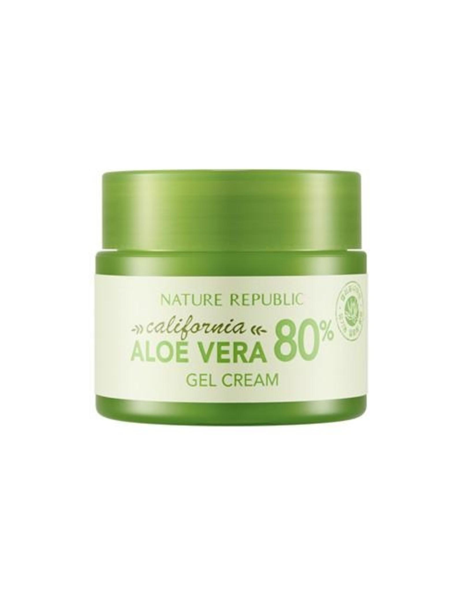 California Aloe Vera 80% Gel Cream