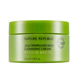 Jeju Sparkling Mud Cleansing Cream