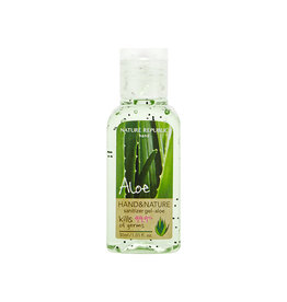 Hand & Nature Sanitizer Gel-Aloe