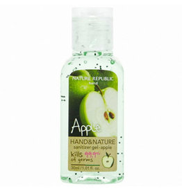 Hand & Nature Sanitizer Gel-Apple