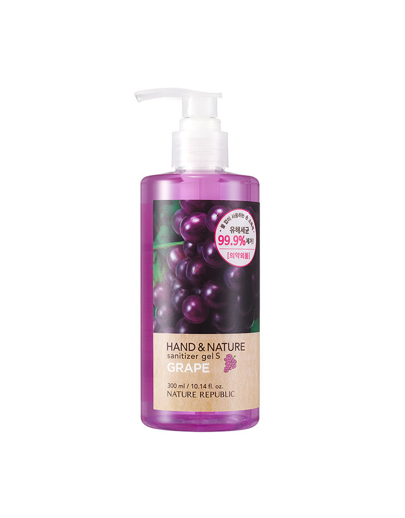 Hand & Nature Sanitizer Gel S - Grape