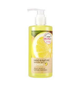 Hand & Nature Sanitizer Gel S - Lemon