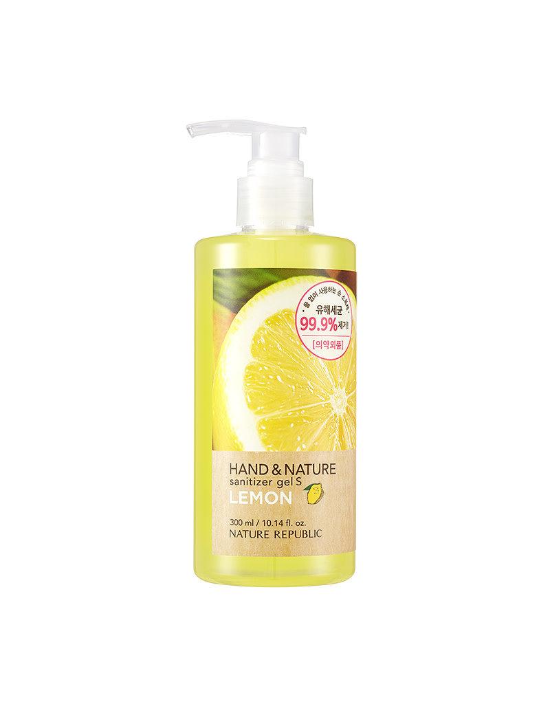 Hand & Nature Sanitizer Gel S - Lemon