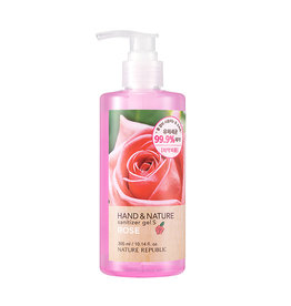 Hand & Nature Sanitizer Gel S - Rose