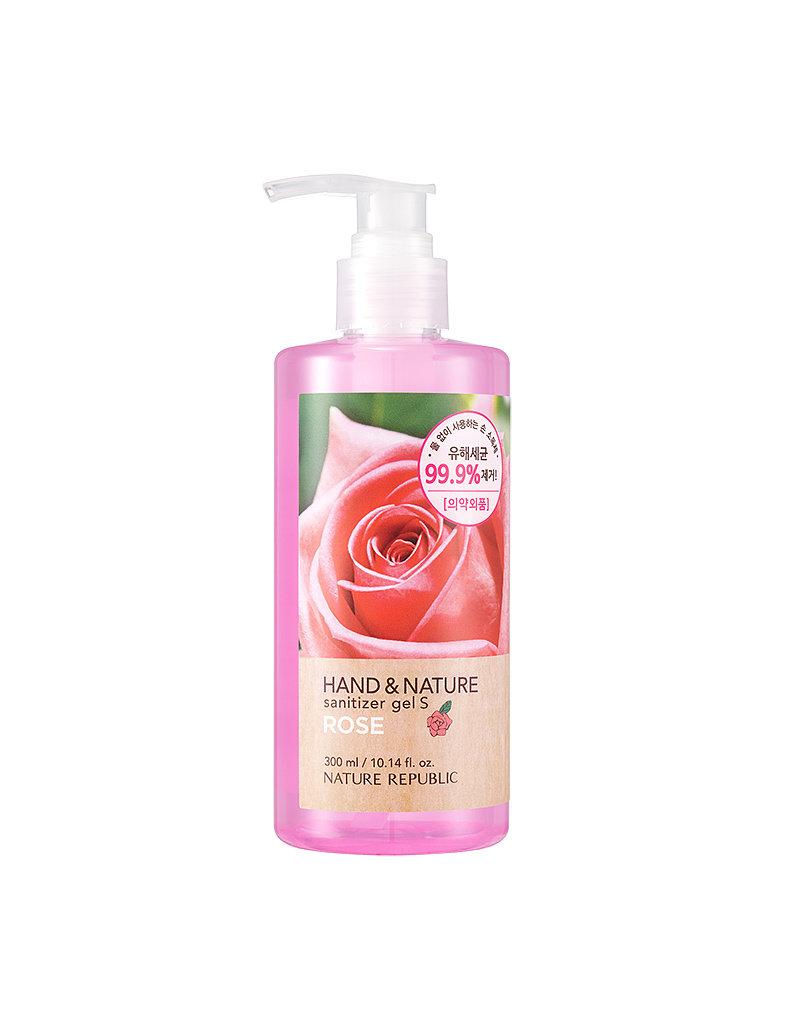 Hand & Nature Sanitizer Gel S - Rose