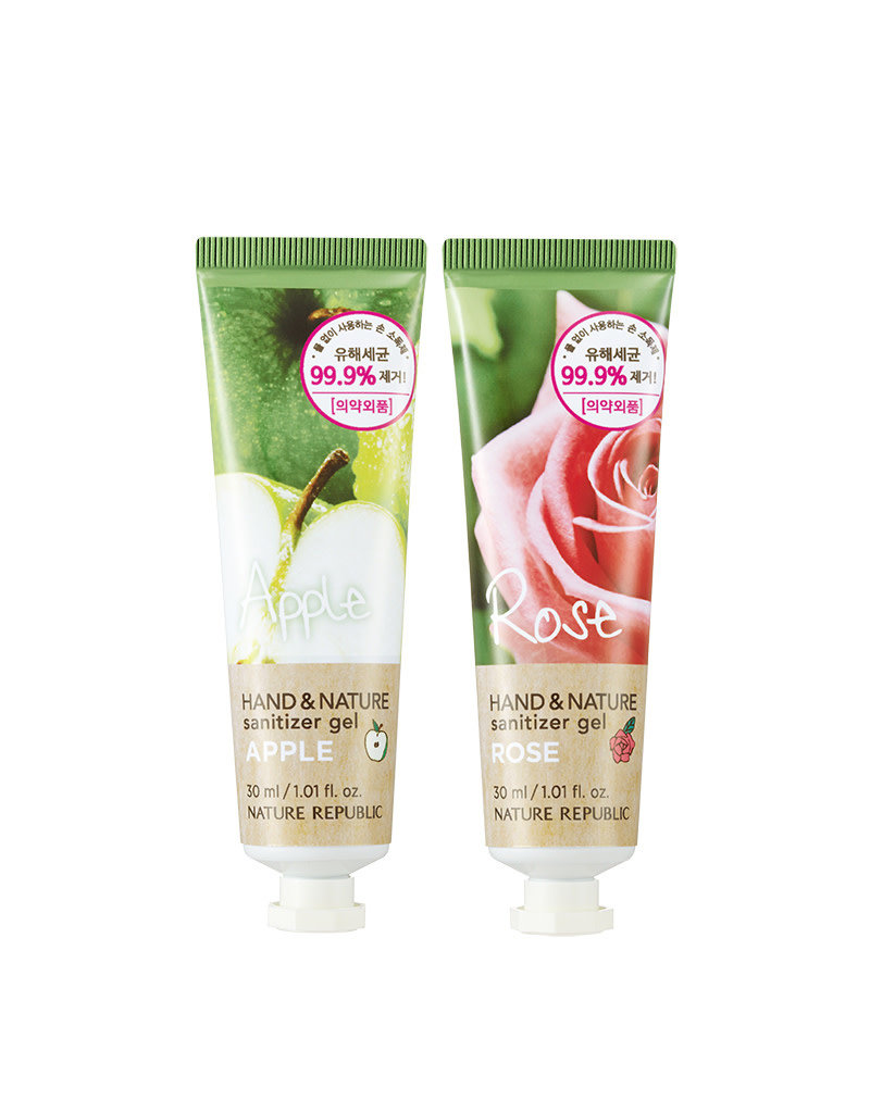 Hand & Nature Sanitizer Gel - Rose (Tube)