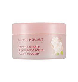 Love Me Bubble Sugar Body Scrub-Floral Bouquet