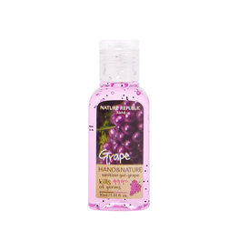 Hand & Nature Sanitizer Gel-Grape