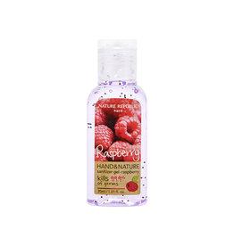 Hand & Nature Sanitizer Gel-Raspberry