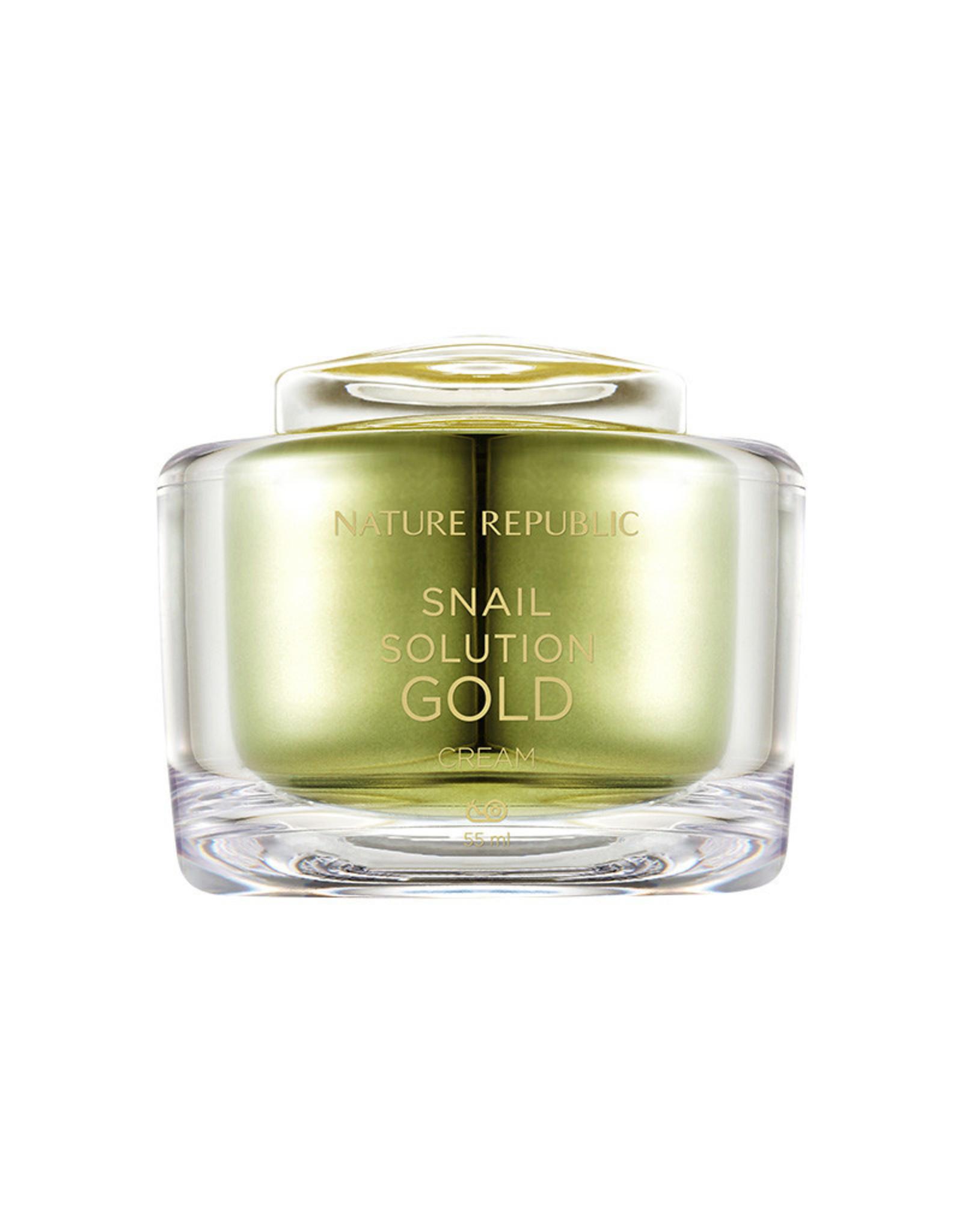 Snail Solution Gold Cream