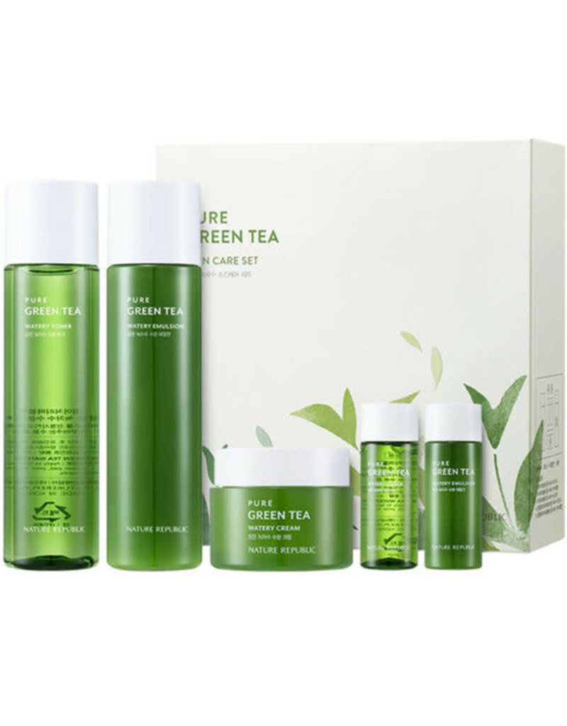PURE GREEN TEA SKIN CARE SET