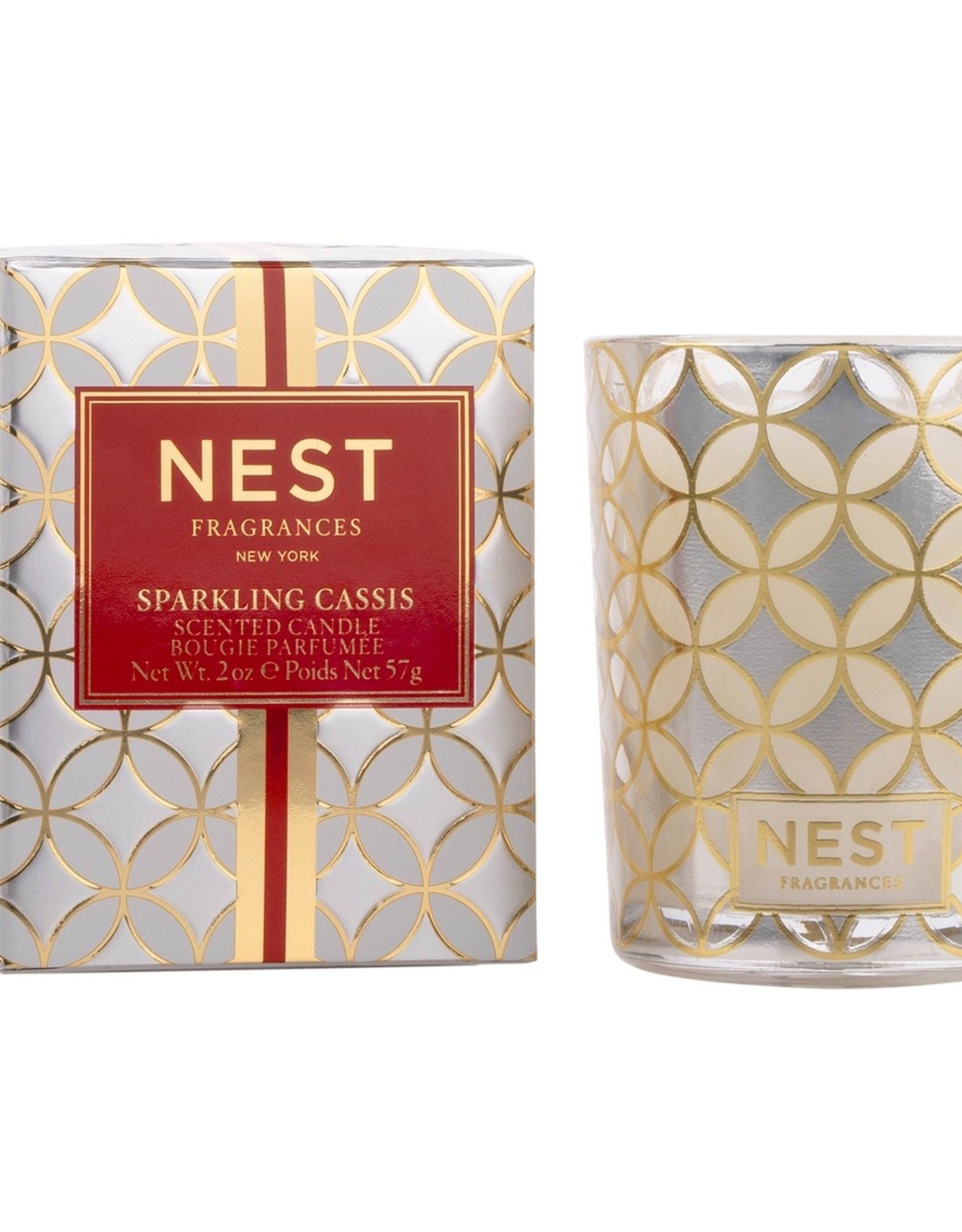 Nest Fragrances Sparkling Cassis Votive Candle