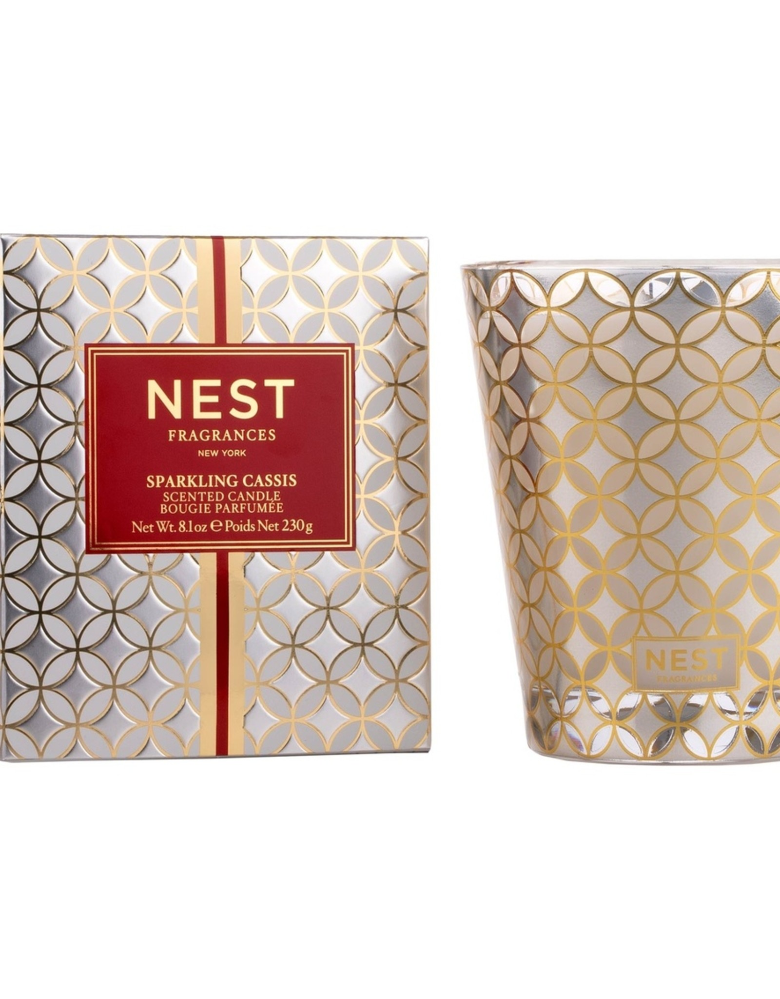 NF-NY Sparkling Cassis Candle 8.1 oz