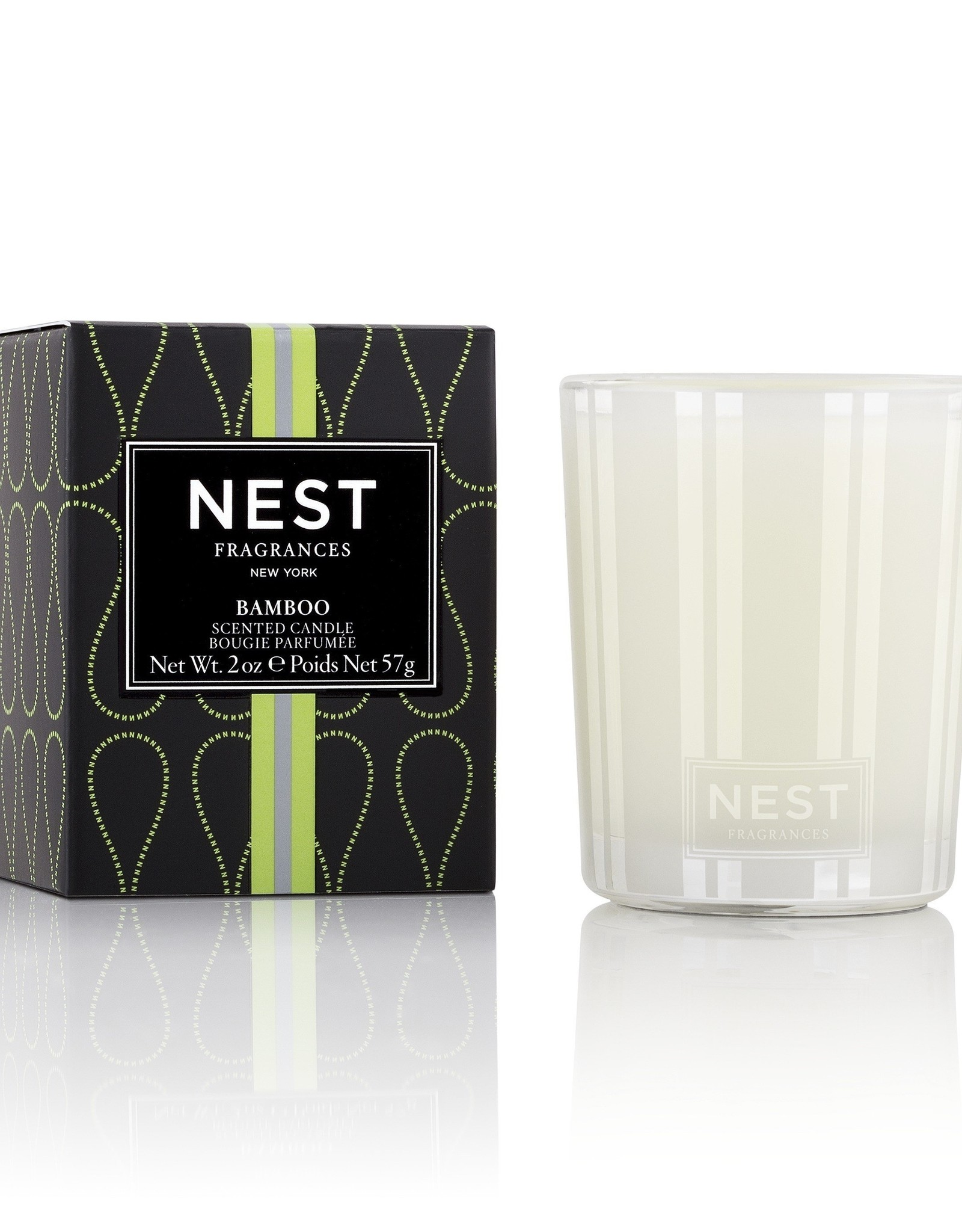 NF-NY Bamboo Votive Candle