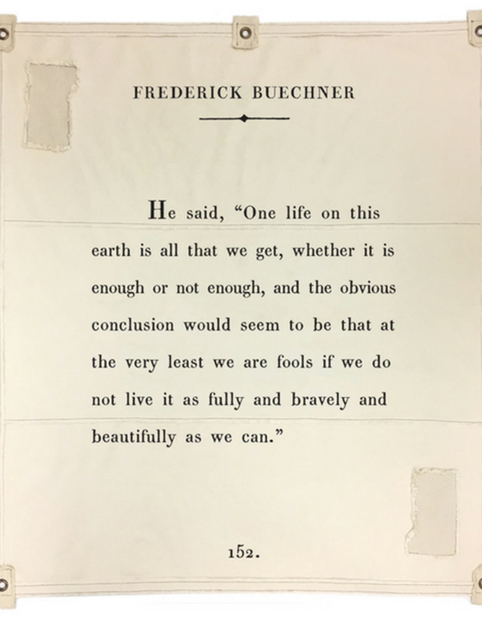 SB-Co Frederick Buechner Tarp