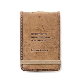 Sugarboo & Co Abraham Lincoln Mini Leather Journal