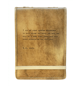 Sugarboo & Co E.B. White Leather Journal