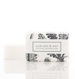 F-55 Aloe Leaf & Mint Soap