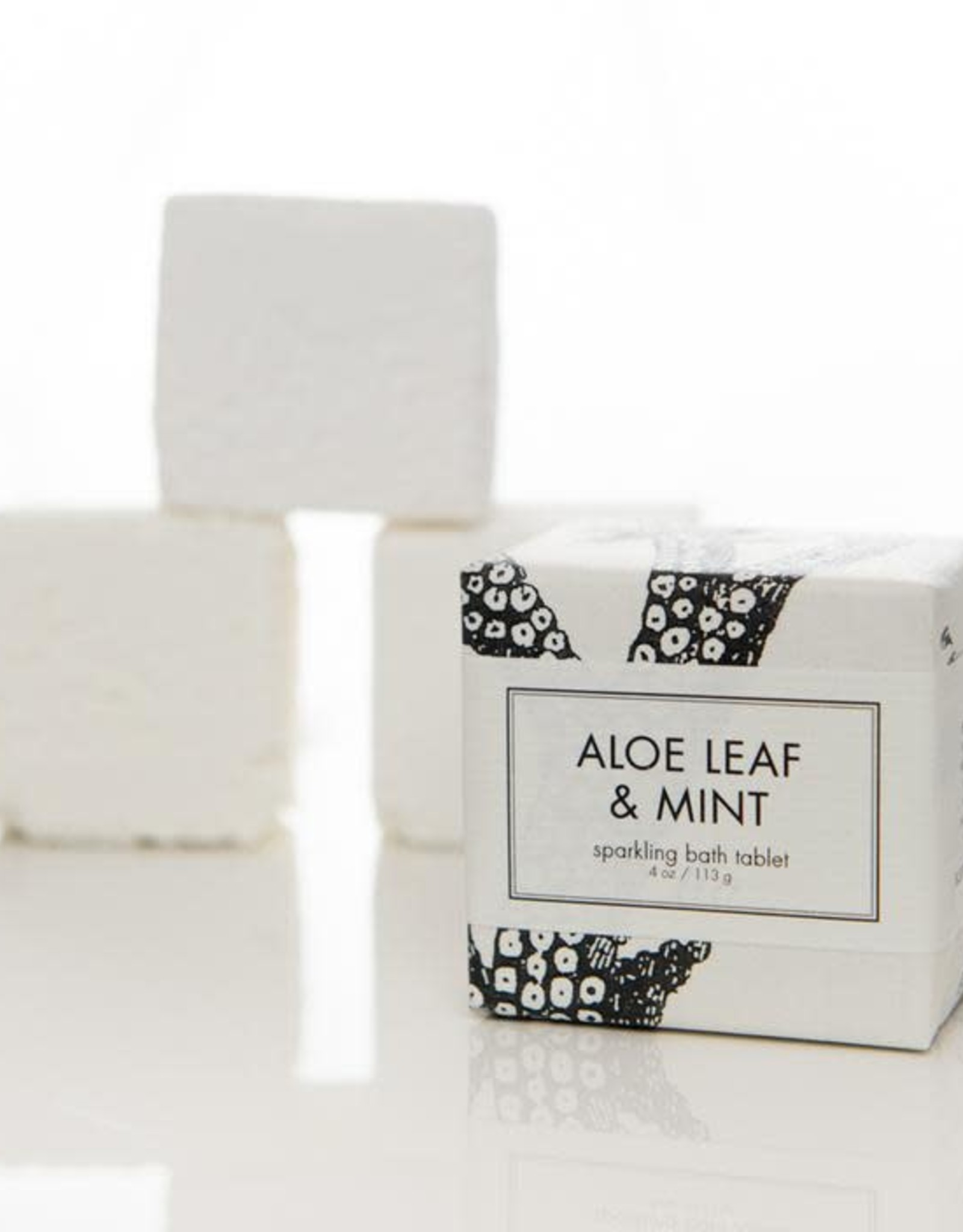 F-55 Aloe Leaf & Mint Bath Tablet