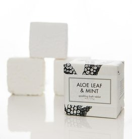 Formulary 55 Aloe Leaf & Mint Bath Tablet