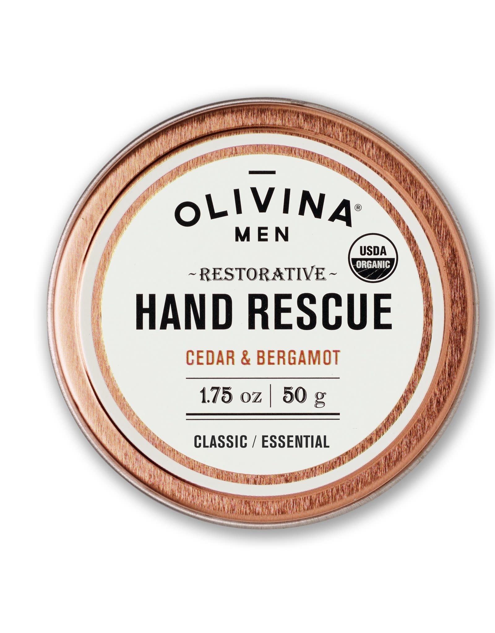 OM Hand Rescue-Cedar & Bergamot
