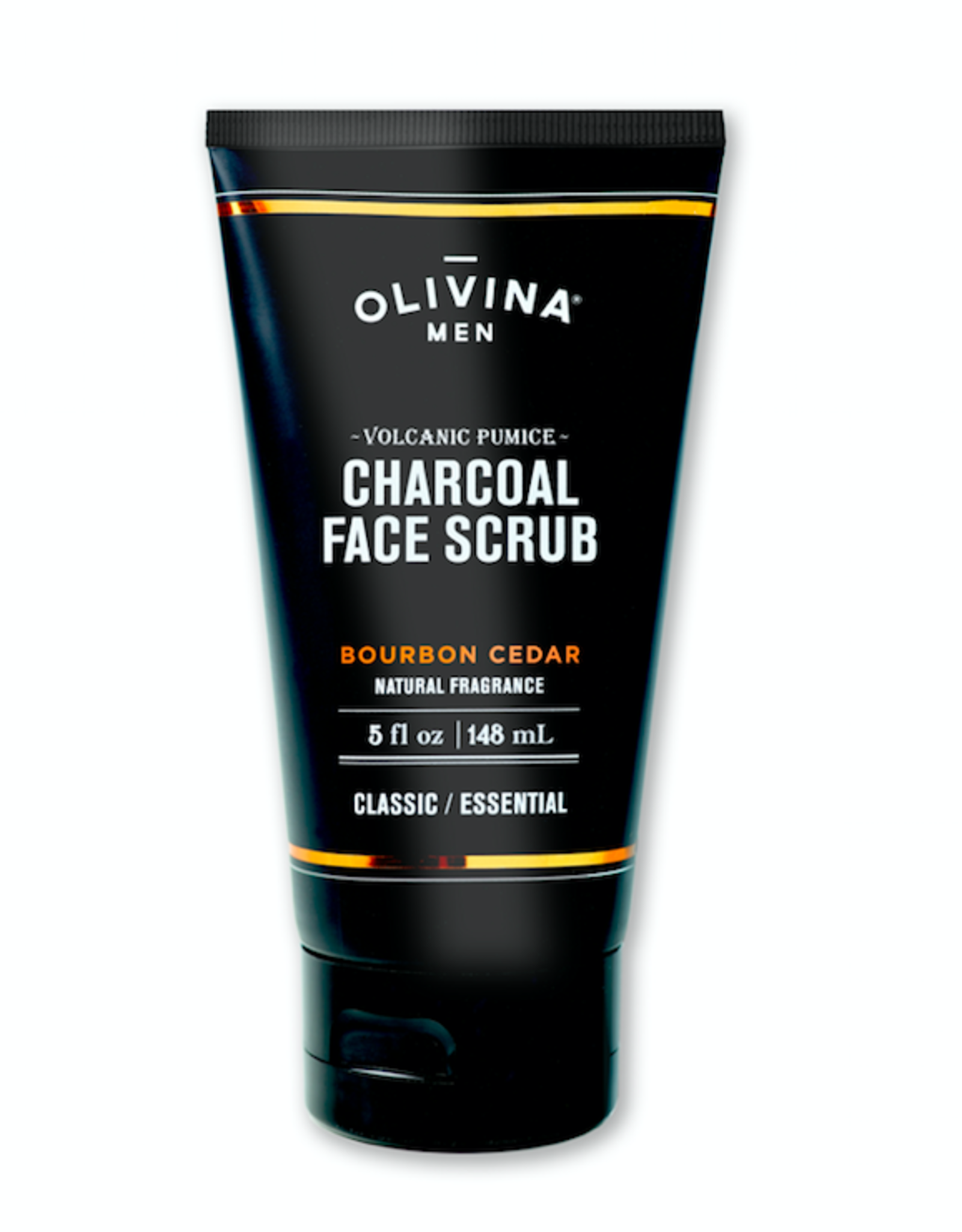 OM Charcoal Face Scrub-Bourbon Cedar