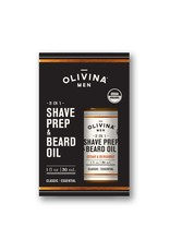 OM Shave Prep & Beard Oil-Cedar & Bergamot