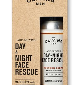 OM Day & Night Face Rescue-Bourbon Cedar