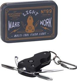 Wild & Wolf Inc Pocket Multi Tool /Flash Light