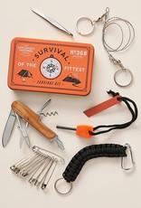 Wild & Wolf Inc Survival Kit Orange