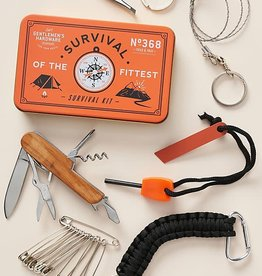 Wild & Wolf Inc Survival Kit Orange