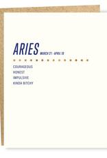 Sapling Press Aries Card