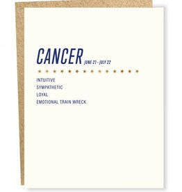 Sapling Press Cancer Card