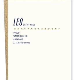 Sapling Press Leo Card